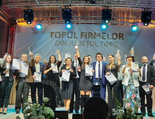 Najvýkonnejšie spoločnosti v Temešváre boli ocenené na slávnosti Business Excellence Gala